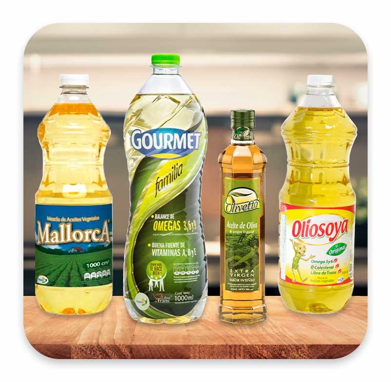 Aceites de cocina y de oliva | Team Foods