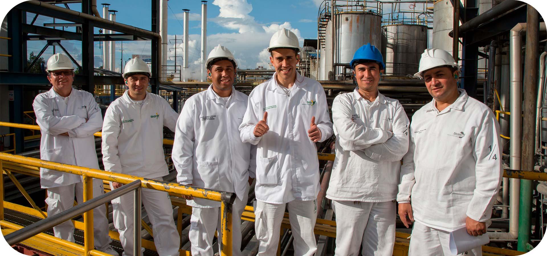 Gente Alianza Team de planta de Bogotá
