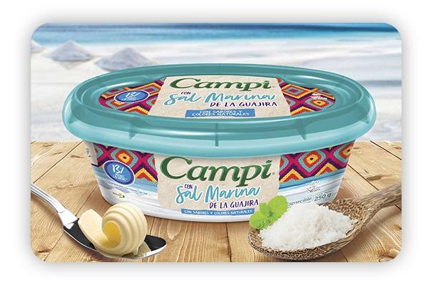 Tarrina de Campi con Sal Marina de Team Foods