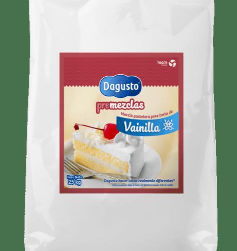 Dagusto Premezcla Torta Vainilla 25KG