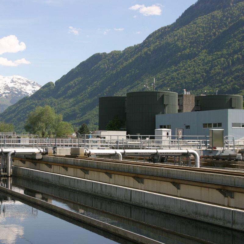 Planta de tratamiento de aguas residuales en empresas